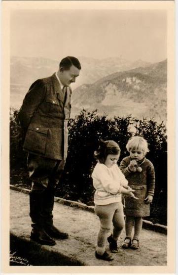 plasselb SammlerShop - Ansichtskarte 3. Reich - Adolf Hitler mit Kindern